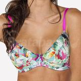 60J - Comexim » Mixed Colors Plunge Bra (446)