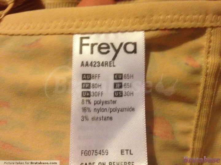   30FF - Freya » Deco Rebel Moulded Plunge Bra (4234)