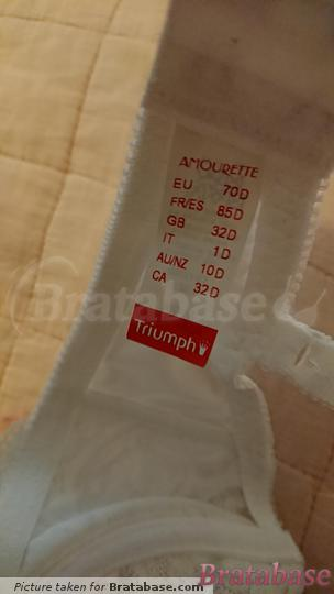 | 70D - Triumph » Amourette 300 Wired Bra