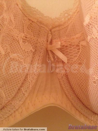 | 34E - Ann Summers » Pure Lace Padded Plunge Bra Nude