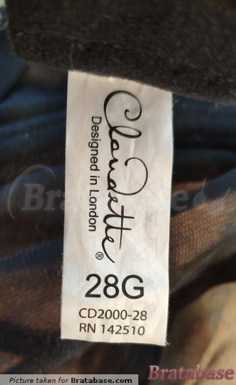  28G - Claudette » Dessous Mesh Underwire Bra (CD2000)