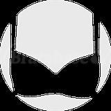 Cross Back Spot Halter Fuller Bust Plunge Bikini Top