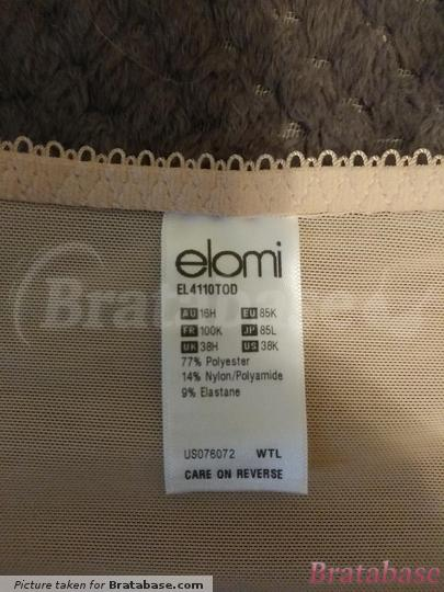   38H - Elomi » Morgan Banded Bra (4110)