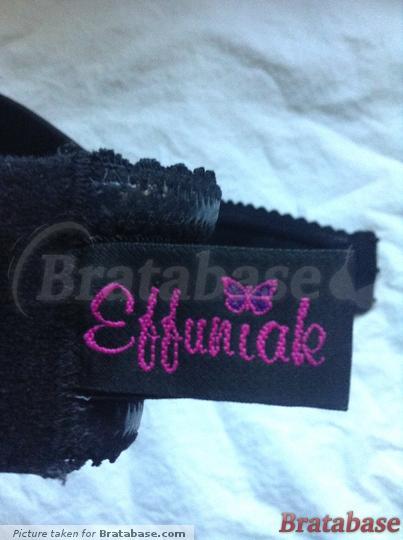 Ewa Michalak Strapless Black 70F Brand Label | 70F - Ewa Michalak » Strapless Black (487)