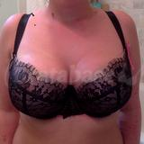 Bra with pads out (NOT how I normally wear S cut bras)