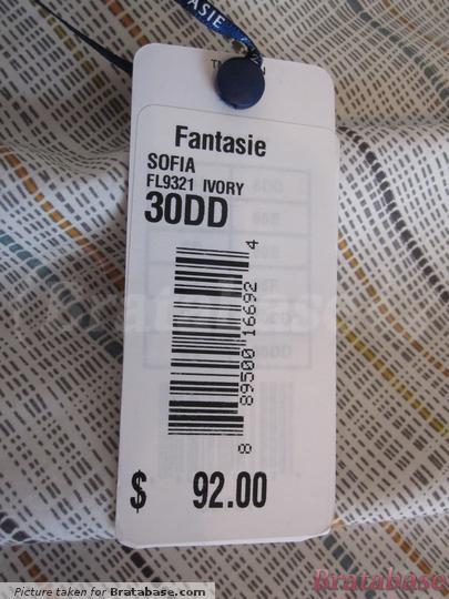 | 30DD - Fantasie » Sofia Padded Half Cup Bra (9321)