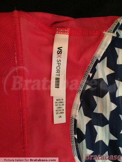 It is a size large, I am a size 36-38 C which fits. | 38C - Victoria's Secret » Unknown Model