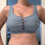 D/DD - Xhilaration » Strappy Front Bralette Bikini Top (5320530