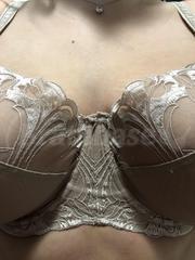 32HH - Panache » Dahlia Balconnet Bra (7291) Wearing bra - Front shot