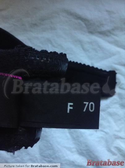 Ewa Michalak Strapless Black 70F Size Label | 70F - Ewa Michalak » Strapless Black (487)
