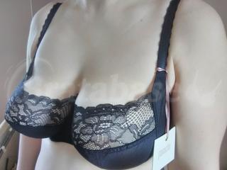 34G - Panache » Jasmine Balconnet Bra (6951) Wearing bra - Angle shot