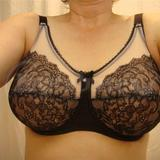 Retro Chic Full Figure Underwire Bra (855186)