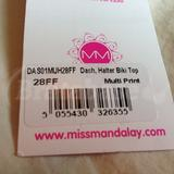 Barcode for the bikini top
