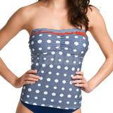 Hello Sailor Bandeau Tankini (3466)