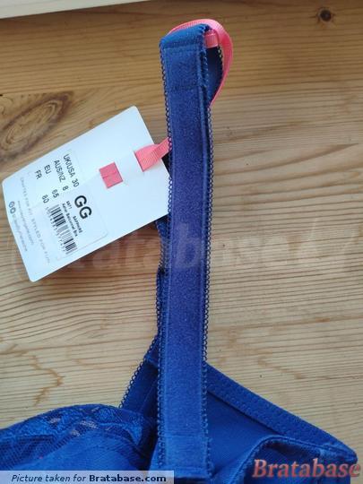 Fuzzy fabric as strap padding   30GG - Cleo » Asher Balconnet Bra (9971)