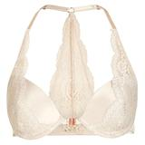 Satin And Lace Plunge Bra (43P14J)