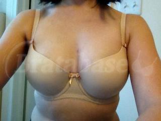 30DD - Freya » Deco Moulded Half Cup Bra (4232) Wearing bra - Front shot
