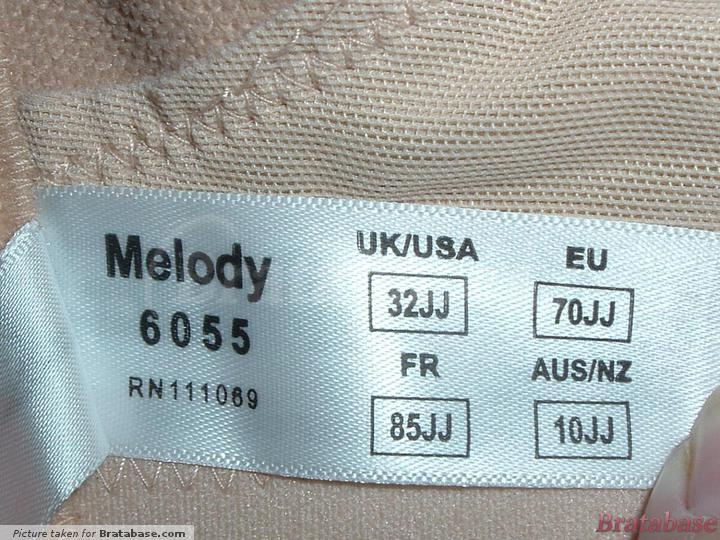 | 32JJ - Panache » Melody Fullcup (6055)