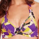Lucia Underwired Non Padded Halter Bikini Top (137523)