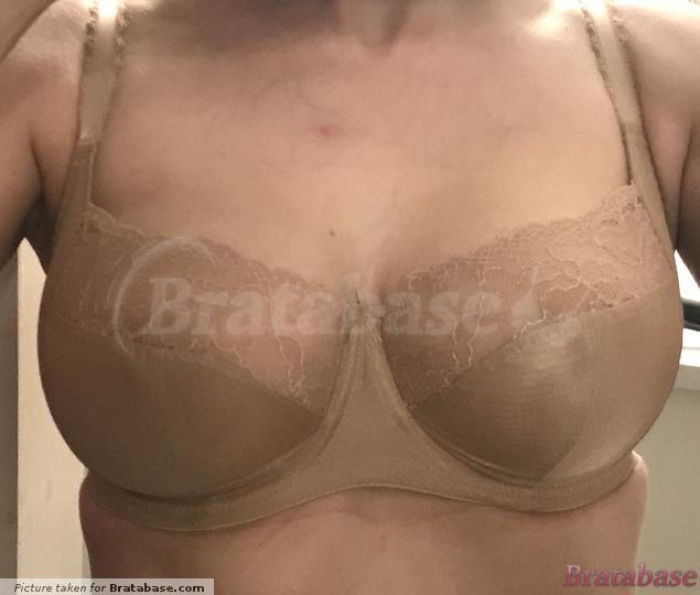 Notice the slight wrinkling of the cups along the underwire. | 30G - Panache » Jasmine Balconnet Bra (6951)