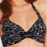 Borneo Non Padded Underwired Halter Bikini Top (137152)