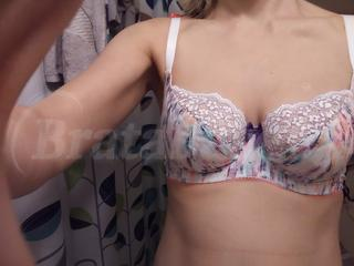 30E - Cleo » Kayla Balconnet Bra (9221) Wearing bra - Front shot