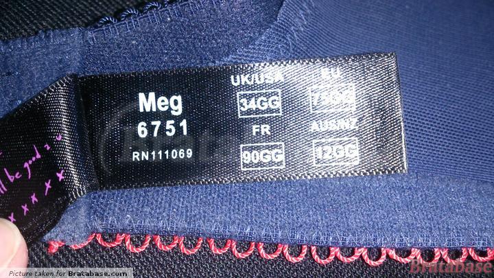 | 34GG - Cleo » Meg Balconnet (6751)