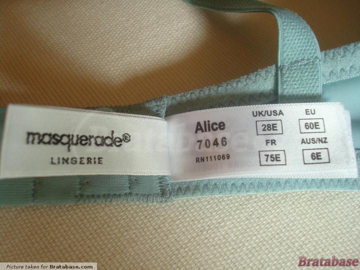 | 28E - Masquerade » Alice Padded Plunge Bra (7046)