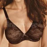 32DDD - Wacoal » Lace Finesse Full Busted Underwire Bra (855201