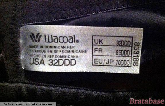 | 32DDD - Wacoal » Pure Couture Contour Underwire Bra (516188)