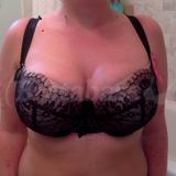 Bra with pads in (how I normally wear S cut bras)