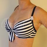 Boca Raton Stripe Bikini Top (400420)