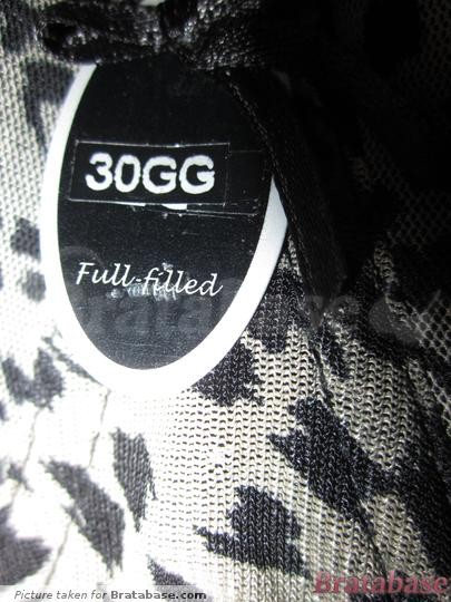 | 30GG - Full-filled » Beau Plunge Bra (BEAU1)