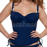 32G - Curvy Kate » Plain Sailing Padded Balcony Tankini (CS2616