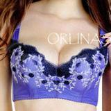 Luxury Embroidery Magic Push Up Bra (L916)