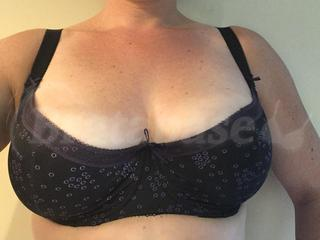 Fantasie Clementine Bra Underwired Full Cup Side Support Black Floral 9182 New