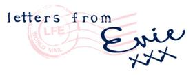 Logo for Letters From Evie