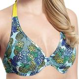 30F - Cleo » Carmen Non-padded Plunge Bikini Top (CL-CW0114)