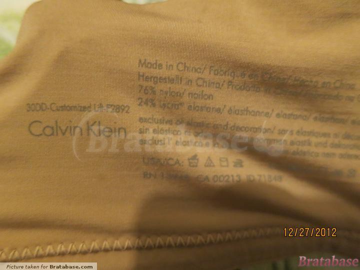   30DD - Calvin Klein » Seductive Comfort Customized Lift (F2892)