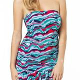 Tilly Bandeau Tankini Dress (0011)