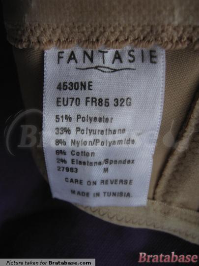 Fantasie 32G label   32G - Fantasie » Smoothing Seamless Strapless (4530)