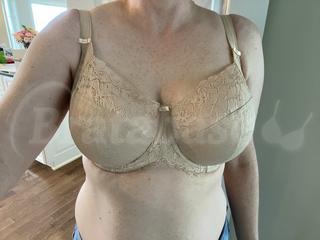 34GG - Panache » Envy Balconnet Bra (7285) Wearing bra - Front shot