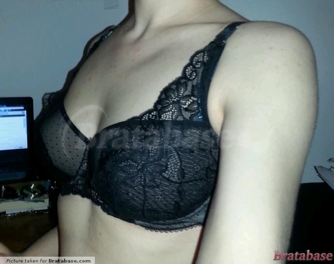 right side | 30F - Just Peachy » Lace High Apex Padded B-g Bra (133501)