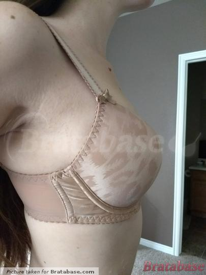 The wire sits too low and the band cuts into my back.   28E - Curvy Kate » Smoothie Moulded Bra (CK2401)