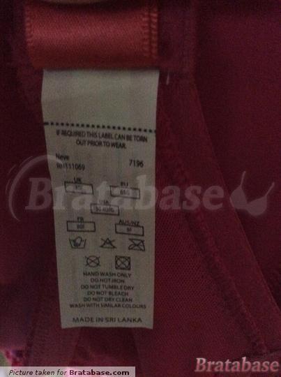 | 30F - Cleo » Neve Plunge T-shirt Bra (7196)
