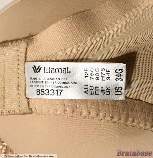 | 34G - Wacoal » Underwire Lace Contour Bra (853317)