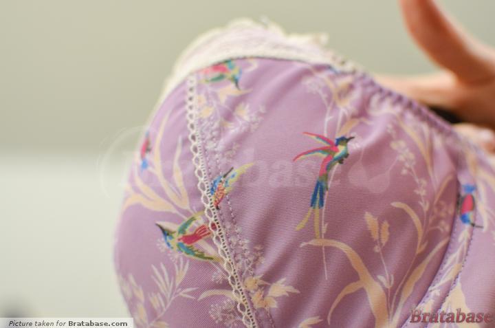 Beautiful fabric | 28FF - Freya » Just Flew In Padded Longline Bra (1393)