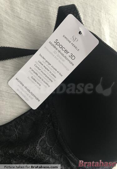 Material of the bra cups.   65F - Simone Perele » Caresse 3d Plunge Bra (12A316)