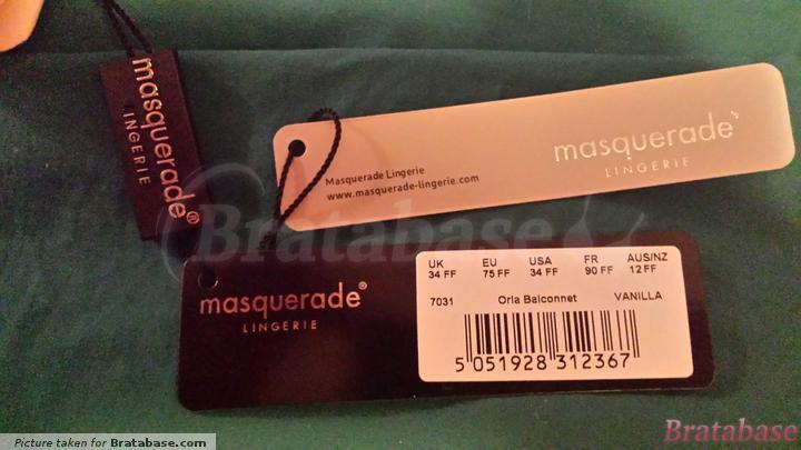 | 34FF - Masquerade » Orla Non Padded Balconnet Bra (7031)