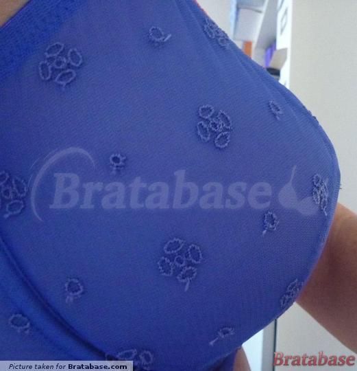 very strange shape | 30G - Just Peachy » Lana Broderie Non Padded Balconette Bra (13
